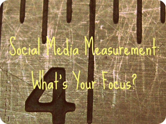Social Media Measurement: What's Your Focus? | Social Media in 30 Minutes a Day | Scoop.it