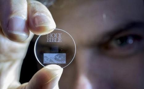 Guardan 360 teras de información en un pequeño y eterno disco de cuarzo   Innovación   Scoop.it