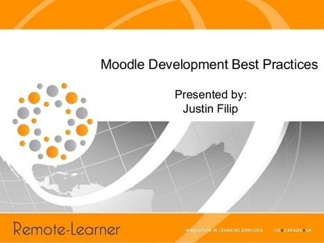 Presentation: Moodle Development Best Practices... | Moodle | Scoop.it