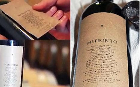 Meteorito, le vin au goût extraterrestre ! | Articles Vins | Scoop.it