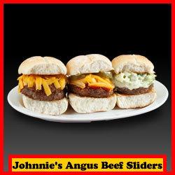 Johnnie's Angus Beef Sliders   JohnniesBurgers   Scoop.it