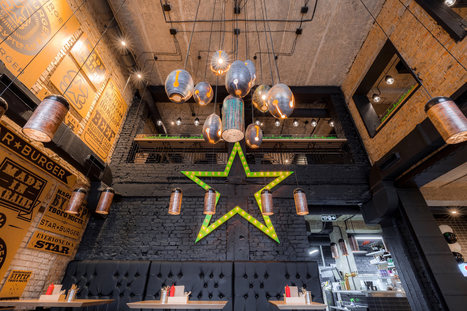 Star Burger: An Industrial Restaurant Design – Adorable Home | Adorable Home - Inspirational Home Design and Decorating Ideas | Scoop.it