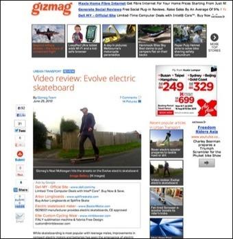 In The Media | Evolve Skateboards | Scoop.it