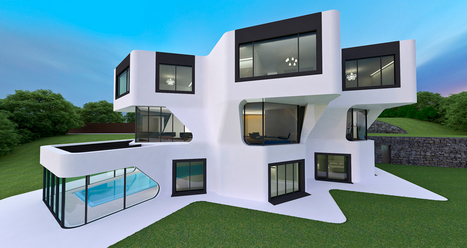 """Dupli Casa House"" one residence is an architectural masterpiece, located in Germany 