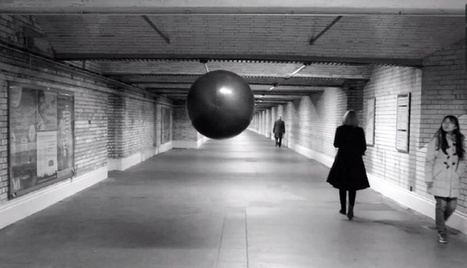 This  FLOATING ORB Plays Freaky Sounds in Stairwells and Tunnels | URBANmedias | Scoop.it