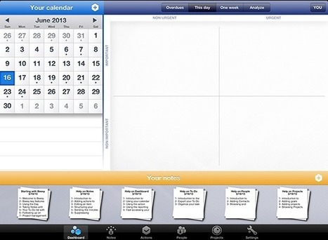 Beesy: Professional iPad Note-Taking and Task Management | iPad.AppStorm | School | Scoop.it