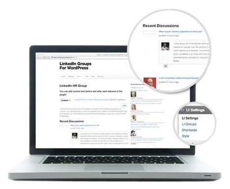LinkedIn Groups WordPress Plugin   LinkedIn Groups for WordPress   Scoop.it