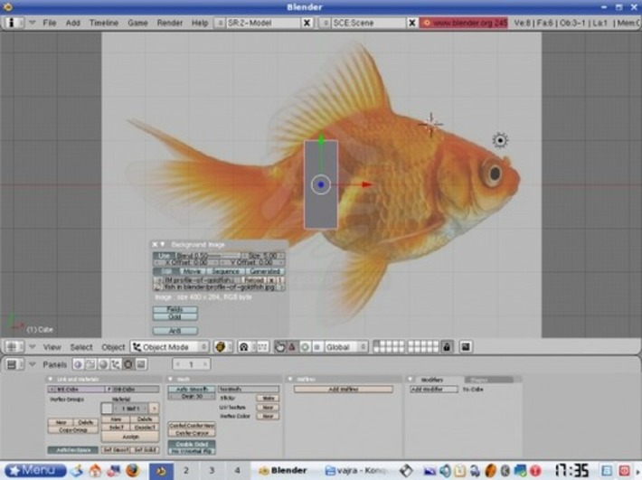 Learn to Animate with Blender, Part 1: Modelling the Goldfish - LINUX For You | Machinimania | Scoop.it