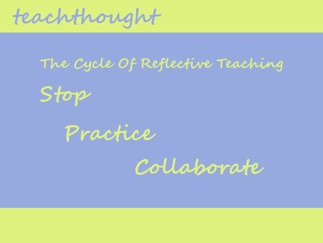 The Cycle Of Reflective Teaching | Ripples | Scoop.it