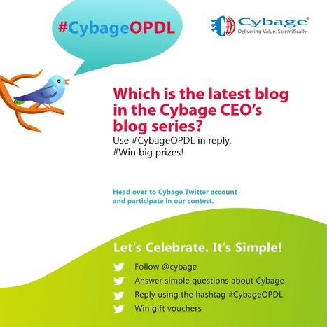 Be quick! The contest closes tomorrow 6 pm IS Reply using #CybageOPDL | Cybage IT News | Scoop.it