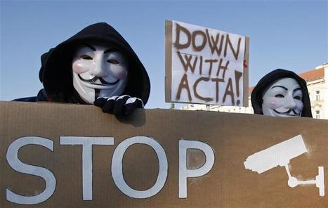 Des dizaines de milliers de manifestants en Europe contre l'accord Acta | Union Européenne, une construction dans la tourmente | Scoop.it