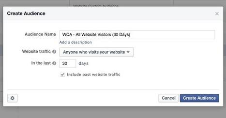 How to Create Facebook Website Custom Audiences for Multiple Websites | home business | Scoop.it