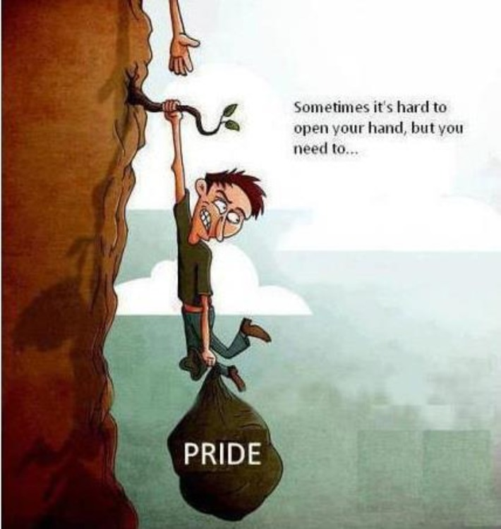 PRIDE IS OFTEN THE LAST OBSTACLE TO OPEN OUR HEART FOR OTHER PEOPLE | Coaching Leaders | Scoop.it