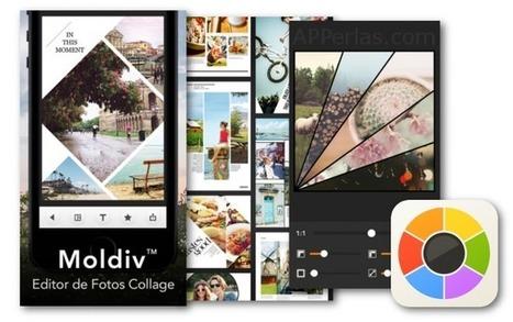 Pon tus fotos en revistas y crea collages con la app MOLDIV | Educacion, ecologia y TIC | Scoop.it