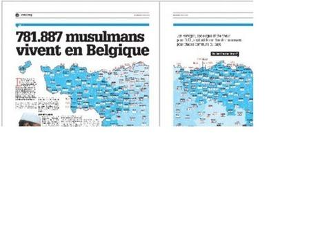 Une «carte des musulmansen Belgique» à prendre avec des pincettes | Le gratin de la bêtise | Scoop.it