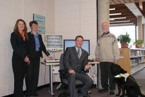 Le gouvernement provincial investit 250 000 $ pour améliorer l'accès des personnes handicapées aux ressources des bibliothèques | Biblio Bulletin | Scoop.it