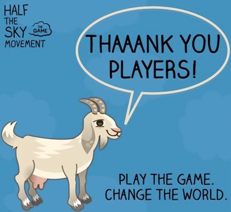 Half the Sky Game: What Went Right and What Went Wrong? (Part 3) | Transmedia Landscapes | Scoop.it