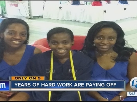 Three sisters from a family of nine graduate from college years early | Education Matters! | Scoop.it