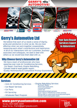 Gerrys Automotive Serving Abbotsford and Mission for Over 30 Years | Automotive | Scoop.it