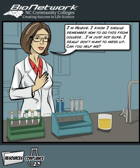 Interactive Comic Book on Pipetting | Instructional Design for eLearning, mLearning, and Games | Scoop.it