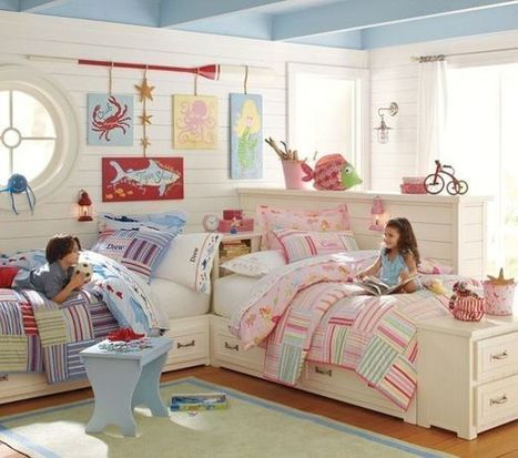 15 Bedroom Interior Design Ideas For Two-Kids   Interior Design Trends & Tips   Scoop.it