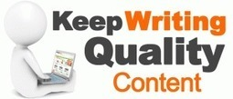 Why Writing High Quality Content Is Crucial For Your Web Site | ClickCabin | Click Cabin Affiliate network | Scoop.it