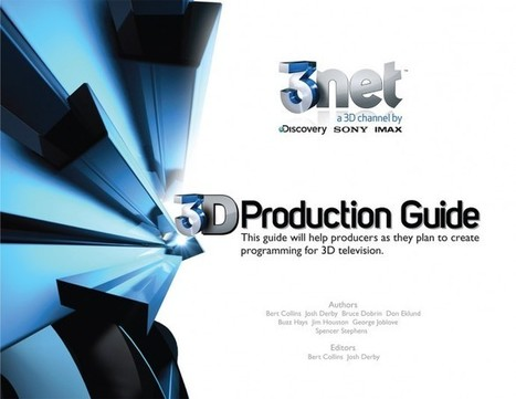 A 3D Production Guide for 3D Television Production by 3net | Transmedia: Storytelling for the Digital Age | Scoop.it