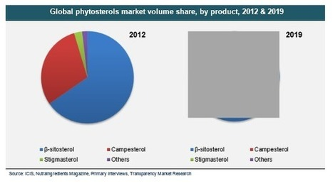 Global Phytosterols Market is Expected to Reach USD 678 Million in 2019 | Market Research Reports | Scoop.it