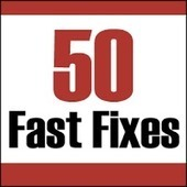 50 fast fixes to improve your job search: Interviewing | Get a Job Tips | Scoop.it