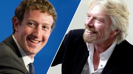 The Morning Rituals of 10 of the World's Most Inspirational Entrepreneurs (Infographic)   All about Business   Scoop.it
