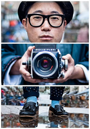 Never Stop Shooting: Triptychs of Strangers by Adde Adesokan | Awesome Photography Inspiration | Scoop.it