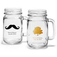 Personalized Mason Jar Drinking Glass|Uniquely You Planning On How To Plan A Perfect Wedding | Wedding Planning | Scoop.it