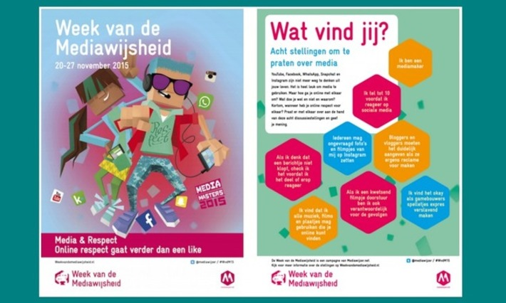Edu-Curator: Week van de Mediawijsheid 'Media & Respect': 20 t/m 27 november | Educatief Internet - Gespot op 't Web | Scoop.it