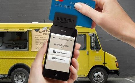 Amazon lance un lecteur de carte bancaire pour concurrencer Square | Banking The Future | Scoop.it