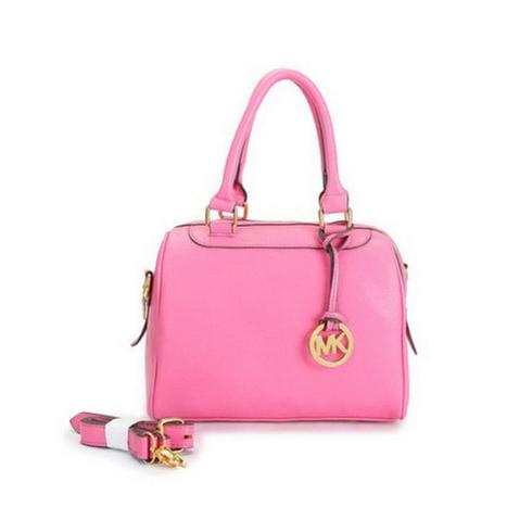 Michael Kors Hamilton Medium Pink Satchel Bag | new style | Scoop.it