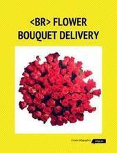 Infographic: online flower bouquet delivery service | Infogram | Flowers online | Scoop.it