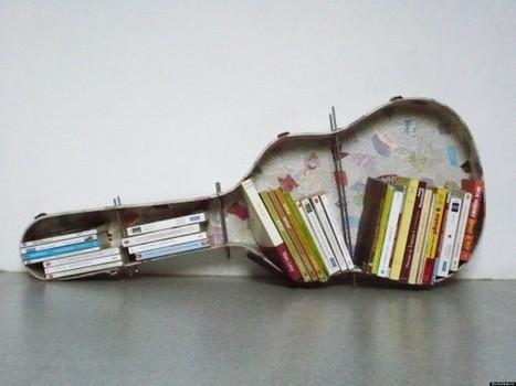 Des étagères-bibliothèques insolites pour ranger vos livres... #design | Edition en ligne & Diffusion | Scoop.it