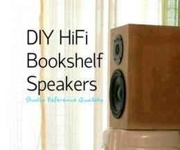 DIY HiFi Bookshelf Speakers (Studio Reference) | DIY Music & electronics | Scoop.it