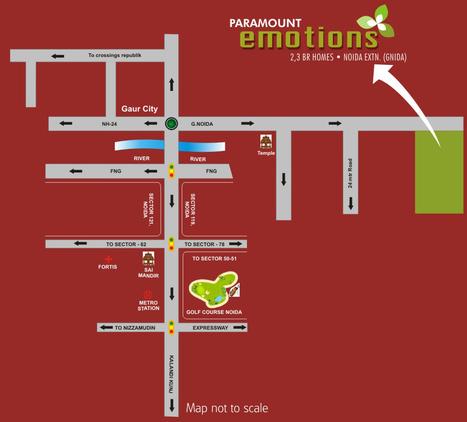 Paramount Emotions 2 noida extension reviews location map | Noida Extension | new projects in noida extensoin | Scoop.it