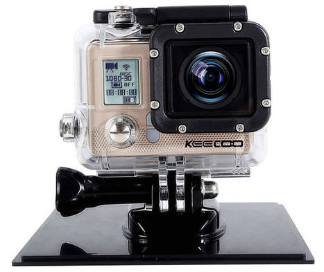 KEECOO 1080p Wi-Fi Action Camera Goes for $49.99 (Promo) | Embedded Systems News | Scoop.it