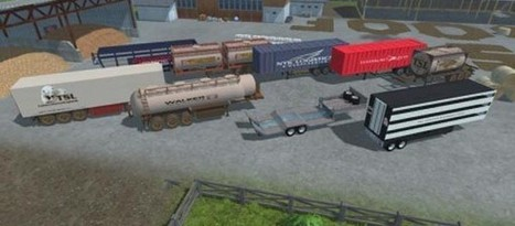 Trailers Pack | FS2013Mods | Farming Simulator 2013 Mods | Scoop.it