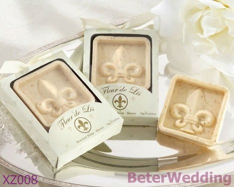 Aliexpress.com : Buy Party gifts wholesale XZ008 Fleur de Lis Scented Soap use as wedding gift from Reliable Party favors suppliers on Your Unique Wedding Favors | Soap Gift Set, Wedding Bubbles | Scoop.it