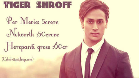 How Much Tiger Shroff Charge fee Per Movie | Salary, Income | Fashion | Scoop.it
