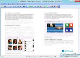 PDF Reader For Windows 8 : une alternative au lecteur de fichiers PDF intégré à Windows 8 | François MAGNAN  Formateur Consultant | Scoop.it