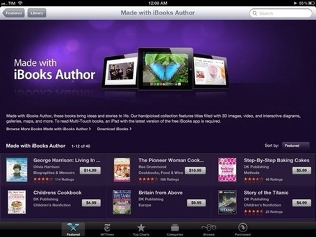 "Apple Showcases Books ""Made with iBooks Author"" 