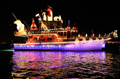 Light up the Holidays at the Newport Beach Christmas Boat Parade! | Travel | Scoop.it
