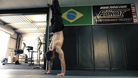 """Now That's A Workout! Simon AKA """"Simonster"""" Ata Shows Us His Strength Workout. It's Unreal, Totally Mind Blowing And Pure Perfection! 