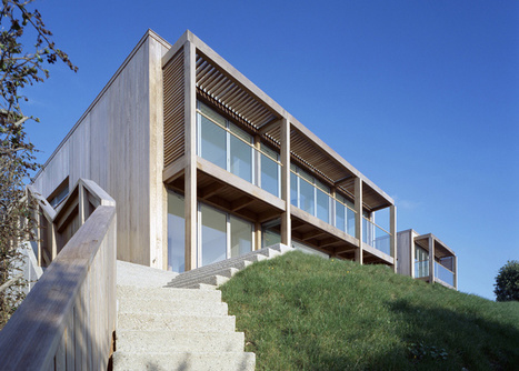 Two Passive Solar Gain Houses in Porthtowan by Simon Conder Associates | sustainable architecture | Scoop.it