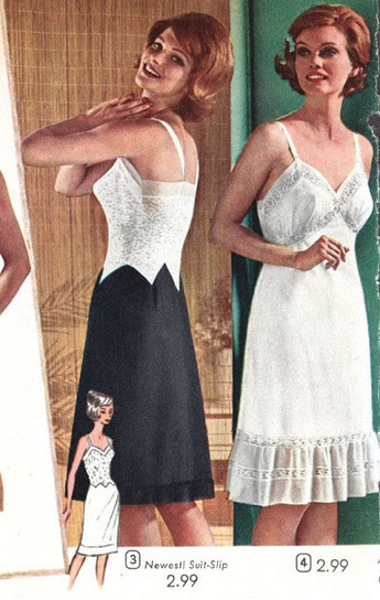 Today's Little Vintage Lingerie History Lesson | Vulbus Incognita Magazine | Scoop.it
