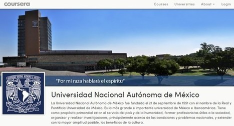 Cursos gratuitos en español disponibles en Coursera | Las TIC y la Educación | Scoop.it